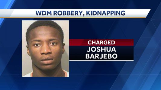 Police arrest suspect in West Des Moines robbery, kidnapping