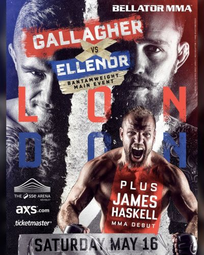 Bellator Europe 8: Bellator returns to London with James Gallagher vs. Cal Ellenor set to headline