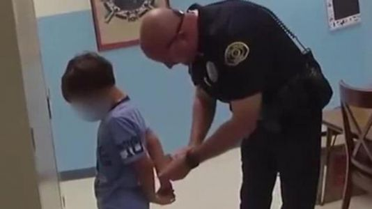 Florida family sues after video surfaces of police handcuffing 8-year-old at school