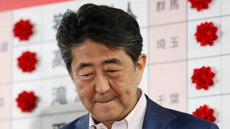 Reform of Japan's 'pacifist' constitution clause at stake as super-majority slips from PM Abe