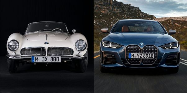 BMW's iconic kidney grille has gone through 13 major redesigns - tour all 88 years of its evolution