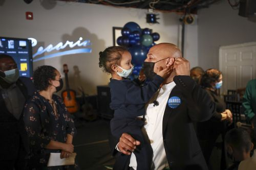 John Barros pitches Boston City Hall, small business experience in mayoral announcement