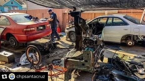 Watsonville chop shop dismantled by police, CHP