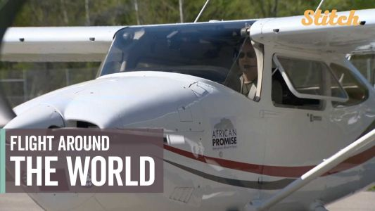 Pilot embarks on 40,000-mile world trip to raise money for charity