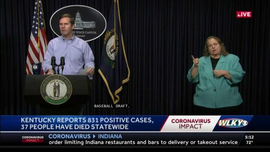 Beshear: Social distancing could save 11,000 Kentucky residents