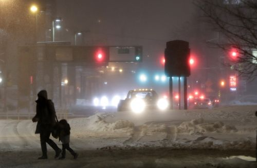 Residents ready to 'move on to another season' amid another nor'easter