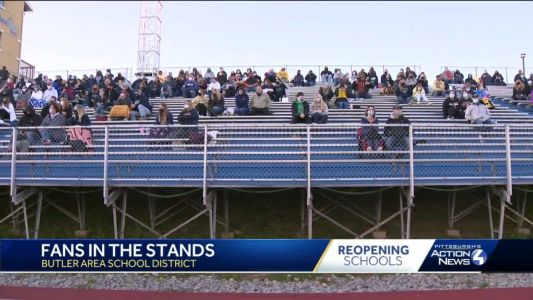 Pennsylvania schools allowing more sports fans after court ruling