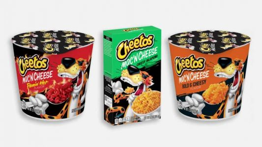 3 flavors of Cheetos mac-and-cheese unveiled