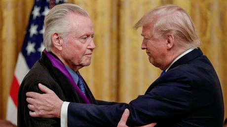 Conservative actor Jon Voight sets off liberal Hollywood in pro-Trump video slamming Pelosi, Newsom as 'disgrace to mankind'