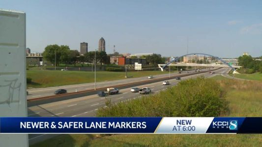 DOT adds new markers on metro freeways to increase safety