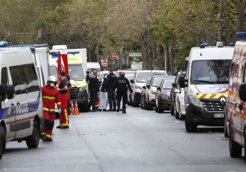 2 wounded in knife attack in Paris near Charlie Hebdo office, suspect arrested