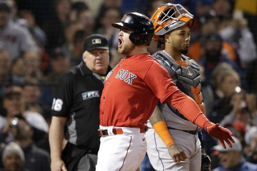Homer-happy Red Sox rout Astros in Game 3 to grab ALCS lead
