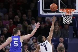 Tillie leads No. 1 Gonzaga past BYU 92-69