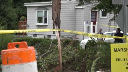 Man killed after crashing car into utility pole, officials say