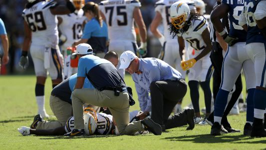 Mike Williams injury update: Chargers concerned about receiver's availability vs. Lions