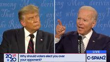 Trump Interrupts Joe Biden's Tribute To His Late Son To Attack His Other Son