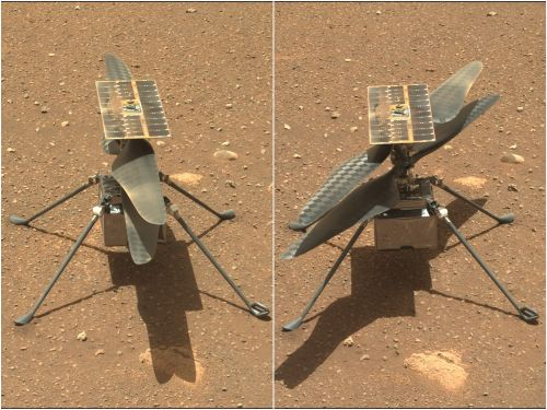 The first flight of NASA's Ingenuity helicopter on Mars is delayed at least a week because its software needs a tweak
