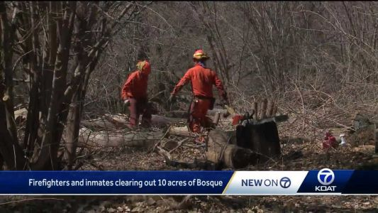 Inmates helping firefighters prepare for fire season