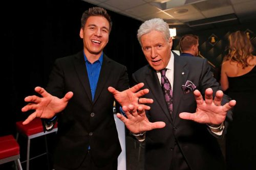 'Jeopardy!' champion James Holzhauer donates to cancer walk in Alex Trebek's name