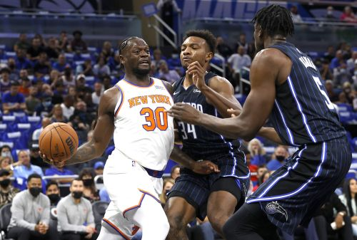 Knicks completely dominate Magic behind record 3-point shooting