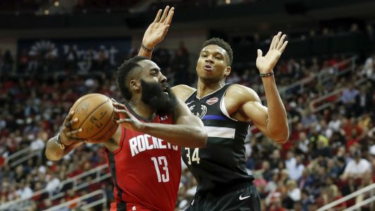 James Harden fires back at Giannis Antetokounmpo after All-Star Draft joke