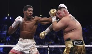 Joshua beats Ruiz on points, reclaims titles in Saudi Arabia