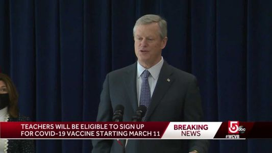 State sets date for Mass. teachers to have access to COVID-19 vaccine