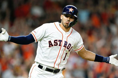 Carlos Correa's clutch hit in ninth propels Astros past Red Sox