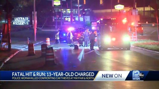 13-year-old charged as adult in fatal hit-and-run in Wisconsin