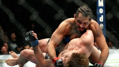 'I let him shine': Beaten rival Askren claims credit for helping 'douchebag' Masvidal rise to stardom after savage 5-second KO