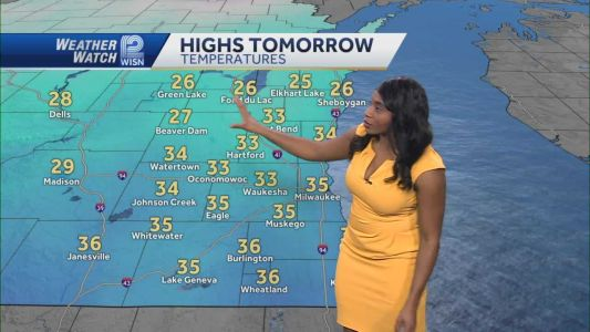 Videocast: Seasonably Cool Monday