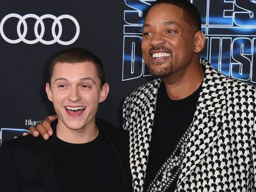 Tom Holland didn't meet Will Smith once in the 2 and a half years they were making a movie together