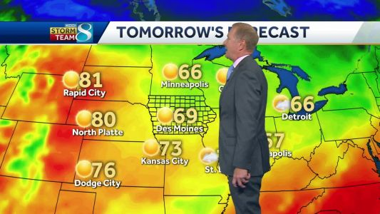 Videocast: Saturday will have sunny skies