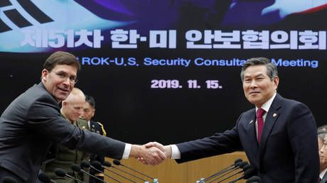 Pentagon denies US is considering pulling troops from S. Korea