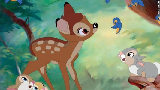 "Judge sentences deer poacher to watch ""Bambi"" monthly"