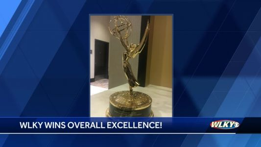 WLKY awarded special achievement award for overall excellence at Ohio Valley Emmy Awards​