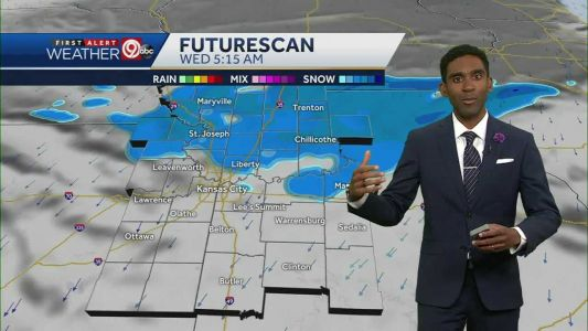 Winter weather advisory issued for Tuesday into Wednesday