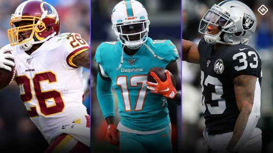 Best Fantasy Week 15 Waiver Pickups: Injuries to Derrius Guice, DeVante Parker, Josh Jacobs, more affect playoff adds