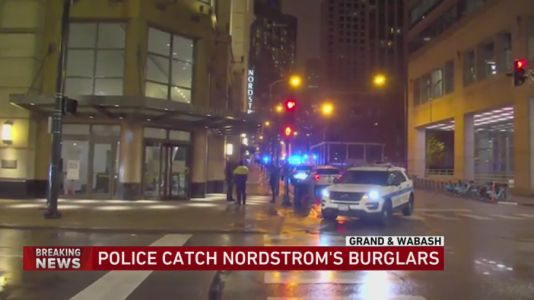 One person in custody in connection to overnight Nordstrom burglary