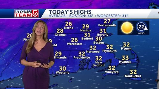 Video- Deeper Chill And Strong Wind Today