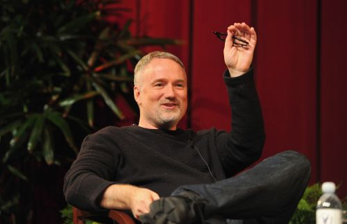 David Fincher takes a shot after losing at Golden Globes 2021