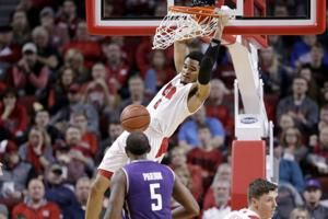 Roby has double-double; Nebraska beats Northwestern 59-50