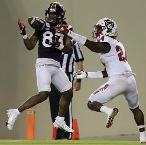 Patterson steps up, leads No. 20 Hokies past NC State 45-24