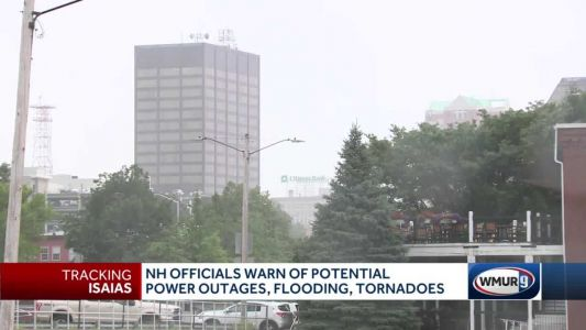 NH officials warn of potential outages, flooding