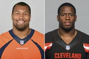 Browns-Broncos matchup is family feud for Chubb cousins