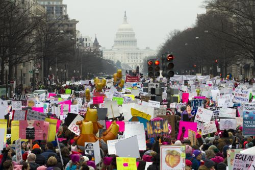 Women's March returns amid shutdown and controversy