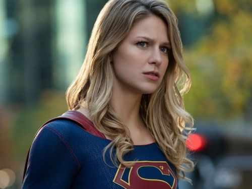 'Supergirl' star Melissa Benoist teased her character wearing pants, and fans are celebrating the suit upgrade