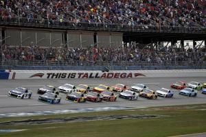 The Latest: Blaney beats Newman in photo finish at Talladega