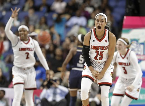 UofL women defeat Boise State 74-42 in opening-round NCAA tourney play