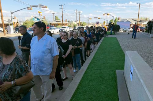 Hundreds flock to El Paso shooting victim's funeral after public invite